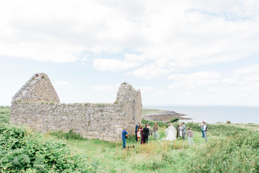 Microwedding in Ireland on Inish More
