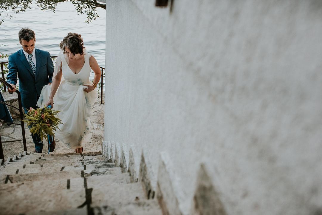 Destination Wedding in Montenegro, Intimate DIY Destination Wedding in Montenegro