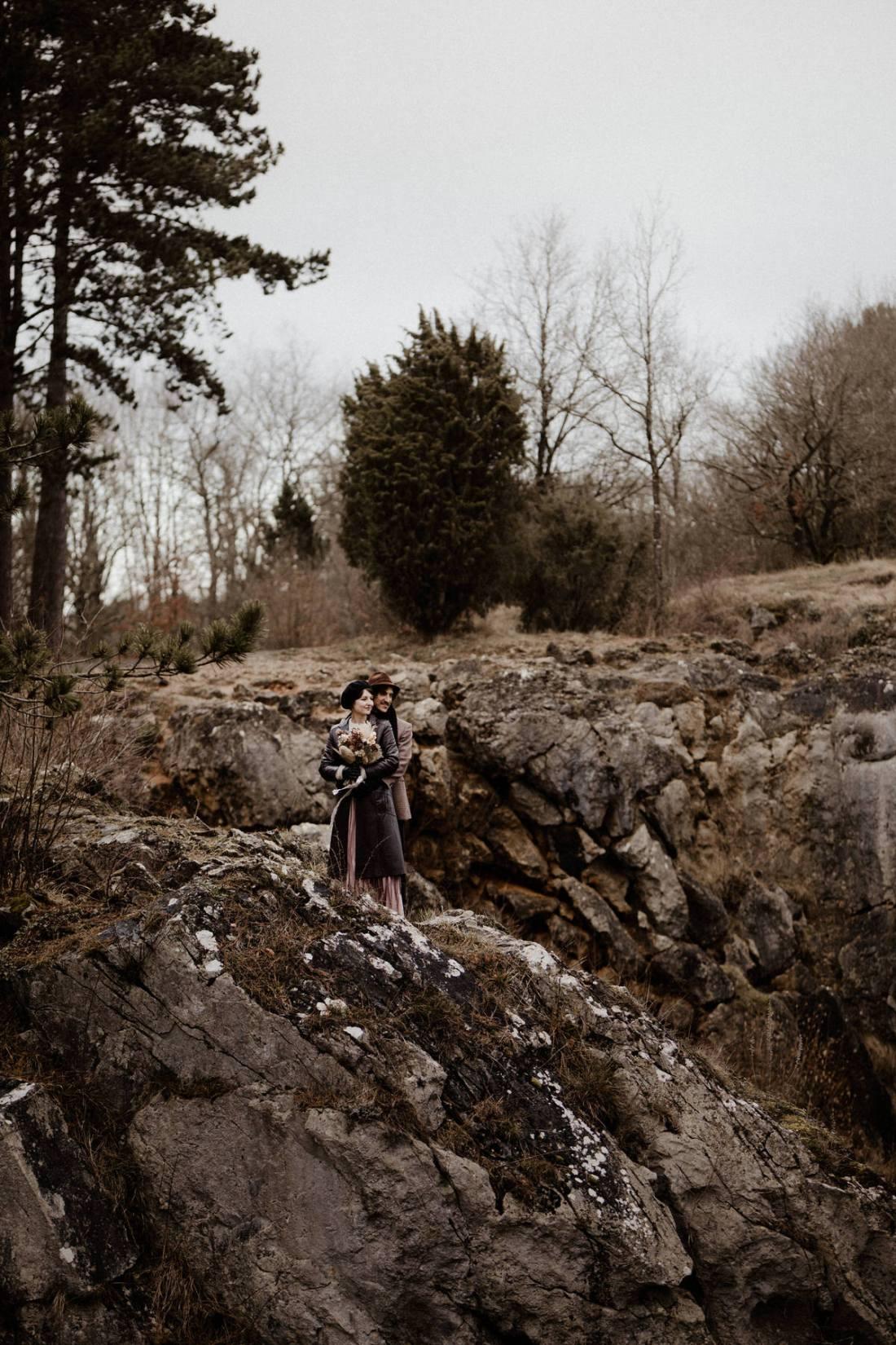 A winter Elopement in Belgium's Ardennes