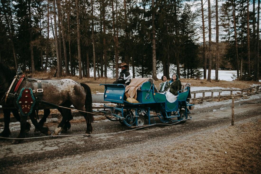 wedding in the Dolomites, Ski Wedding in The Dolomites