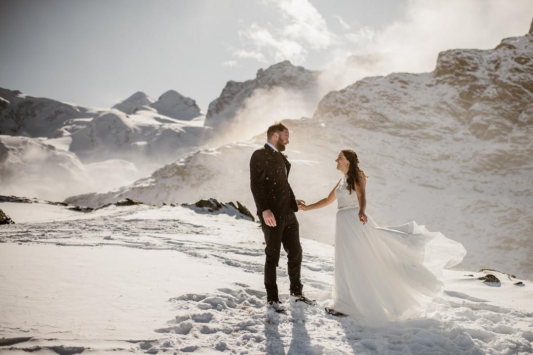 Elopement in Zermatt