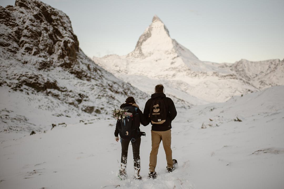 Elopement at the Matterhorn, Adventurous Elopement at the Matterhorn
