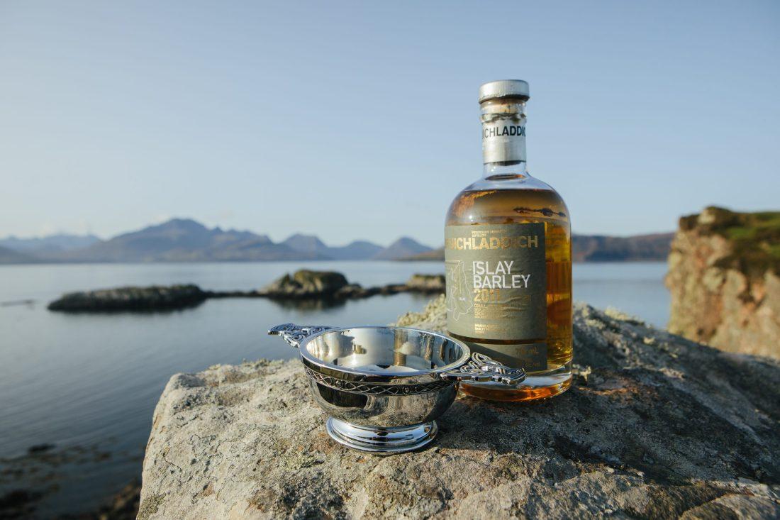 Quaich of whisky