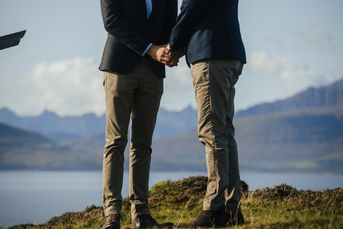 Elopement on the Isle of Skye, Same Sex Elopement on the Isle of Skye
