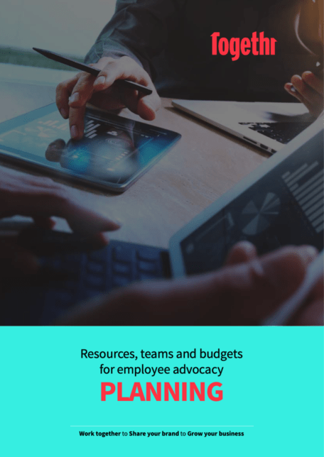 Resources budget and planning front cover