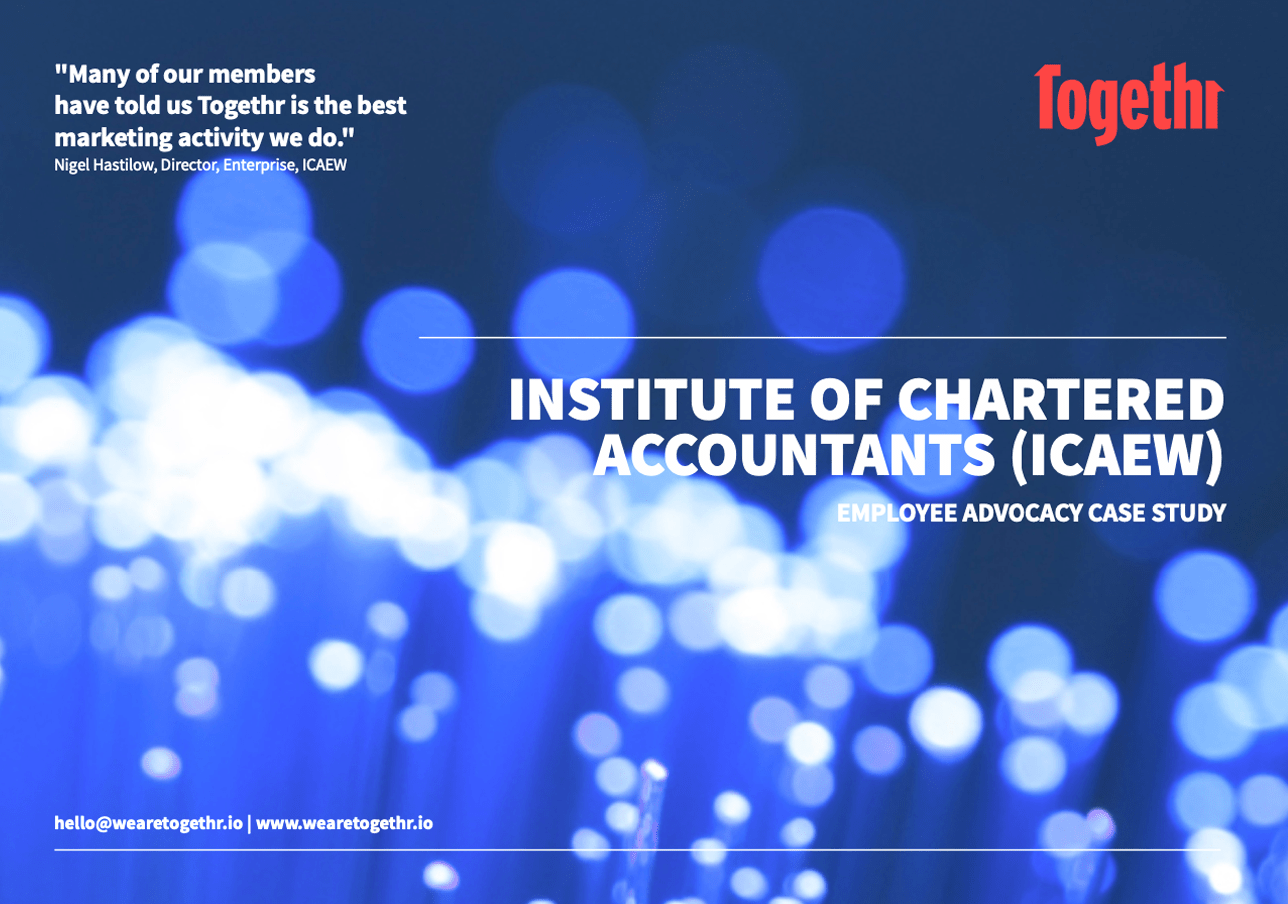 ICAEW advocacy case study front page