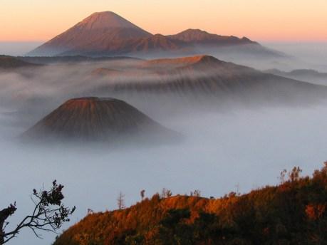 1 Java, Bromo vulkaan