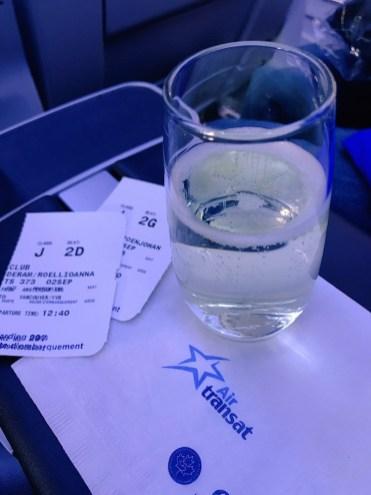 Air Transat vlucht naar Canada 2