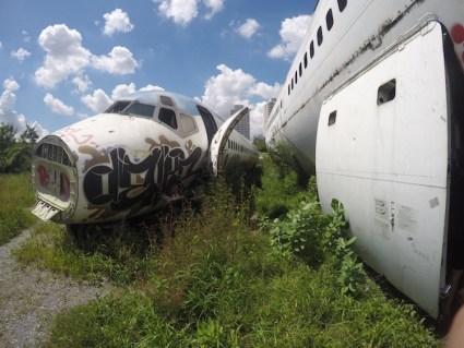 Airplane Graveyard in Bangkok