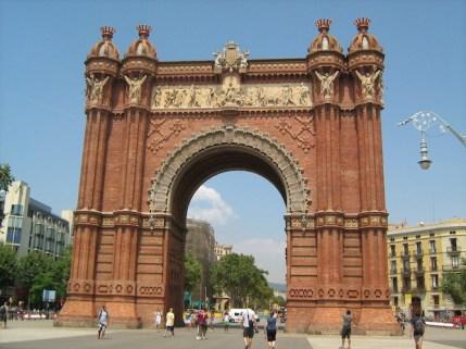 Arc de triomphe Barcelona