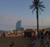 Barceloneta Barcelona strand