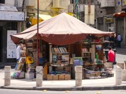 Boekwinkel in Amman