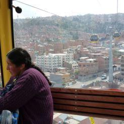 Bolivia La Paz kabelbaan Teleferico