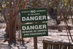 Botswana pas op voor nijlpaarden en krokodillen