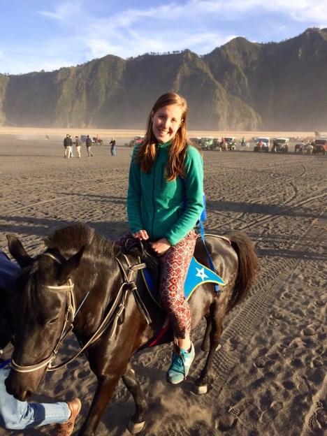 Bromo vulkaan paardrijden java