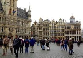 Brussel grote markt plein