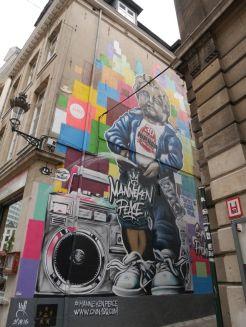 Street art Brussel