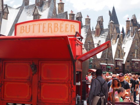 Butterbeer harry potter world