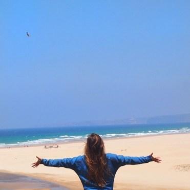 Vrijheid camper reis strand portugal