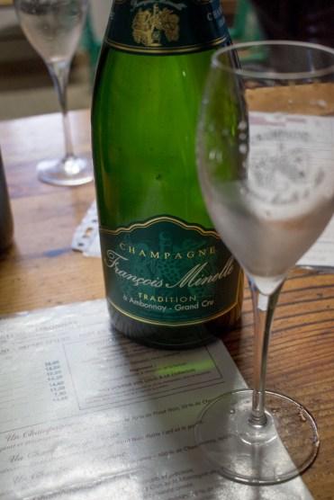 Champagne kopen bij de boer Francoise Minelle