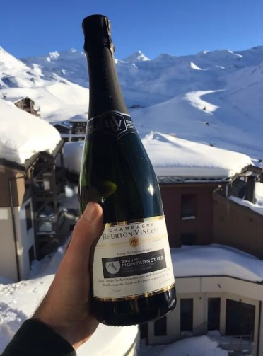 Champagne val thorens
