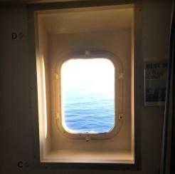 DFDS uitzicht zee