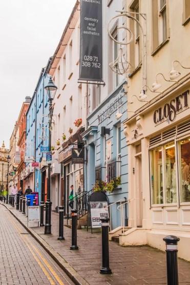 Derry centrum winkeltjes