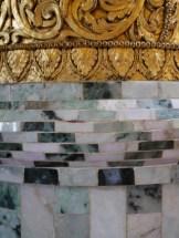 Detail tempel Mandalay