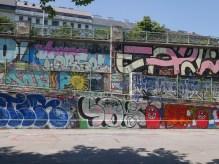 Donau Canal streetart