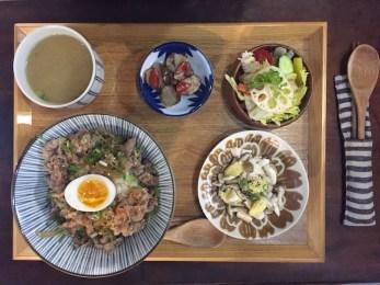 Eten bij Kokoni in tainan Taiwan