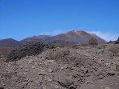 Etna zwarte vulkaan sicilie oostkust