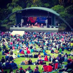 Festival in Nieuw-Zeeland backpacken