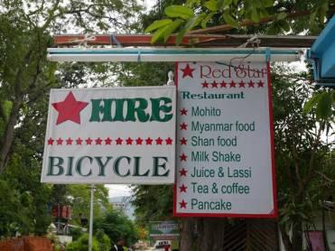 Fiets huren Red Star Cafe