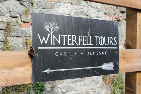 Game of Thrones winterfell ierland Castle-Ward