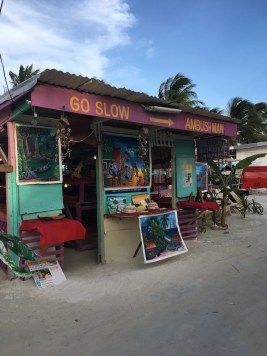 Go Slow Caye Caulker Belize