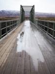 Godafoss waterval brug
