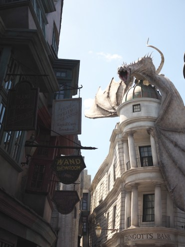 Harry Potter World draak
