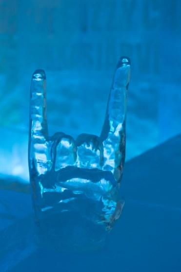 Ice Bar sculptuur