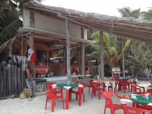Isla Holbox restaurant Victor