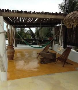 Isla Holbox roofterrace la palapa