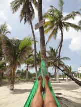 Isla mujeres mexico hangmat strand