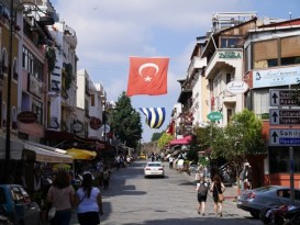Istanbul straten