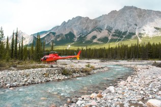 Jasper National Park helicoptervlucht Canada