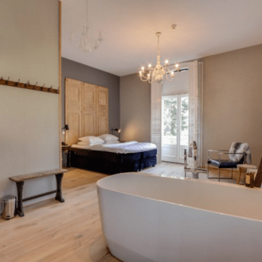 Kamers hotel villa ruimzicht