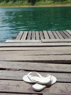 Khao sok zwemmen slippers
