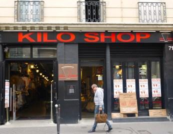 Kilo shop vintage winkel parijs