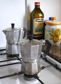 Koffie maken sicilie