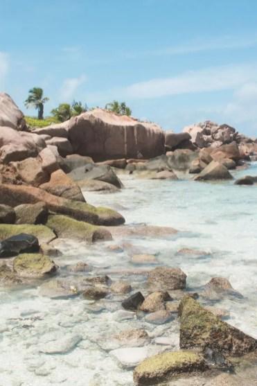 La Digue anse coco mooiste strand seychellen