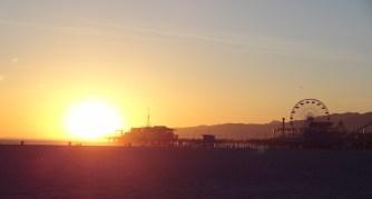 Los Angeles Santa Monica pier
