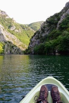 Macedonie Matka Kloof Kayakken